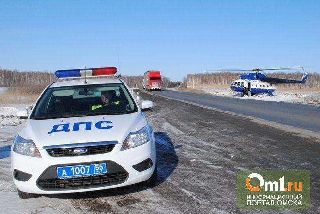 В аварии под Омском погибли двое