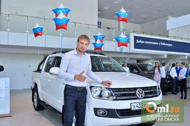 Антон Шипулин стал послом марки Volkswagen