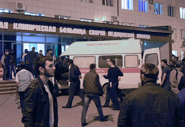 Черный День города: в Грозном взорвался смертник