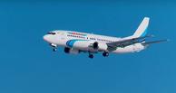 Очевидцы сняли на камеру аварийную посадку самолета, потерявшего шасси в Тюмени