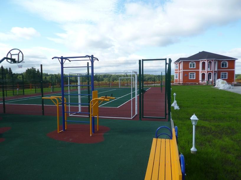 В Омске на Левобережье появится спортивная площадка