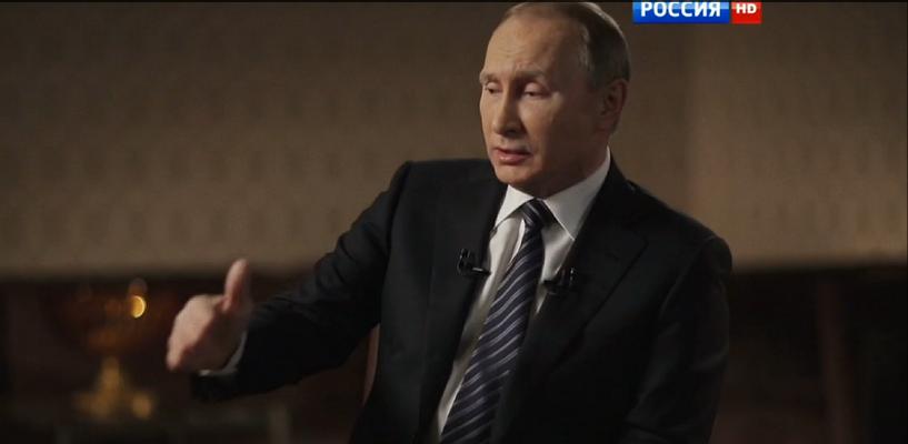 Запад, ядерное оружие и эмоции: на федеральном канале показали фильм с Владимиром Путиным