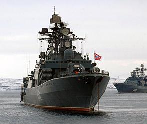 Россия разместит военные корабли в Средиземном море
