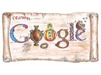 Google заменит свой логотип рисунком 8-летнего школьника из Белгорода