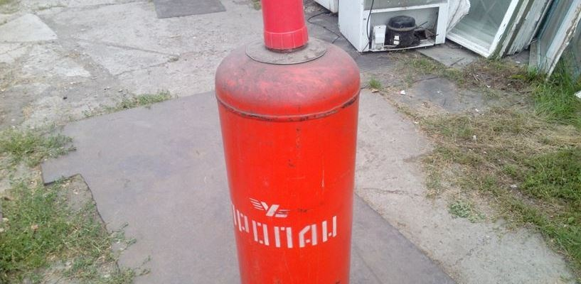 Омич украл у пенсионерки газовый баллон