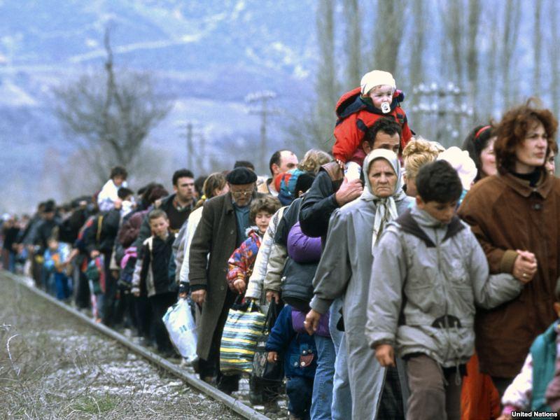Омску определили федеральную квоту на украинских беженцев
