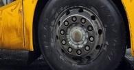 В Омске автобус маршрута №39 сбил женщину на остановке