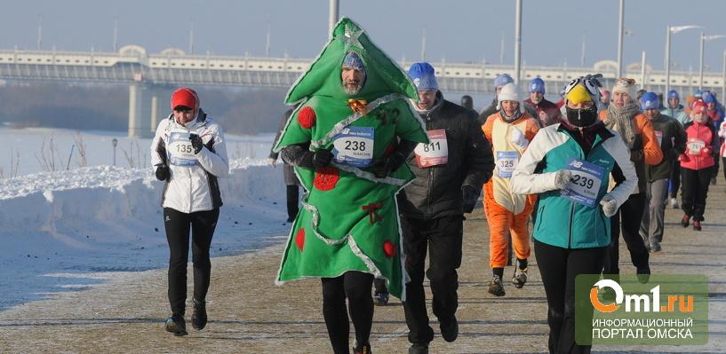 Репортаж: Амур, Тимур, Любочка и Кедр пробежали Рождественский полумарафон