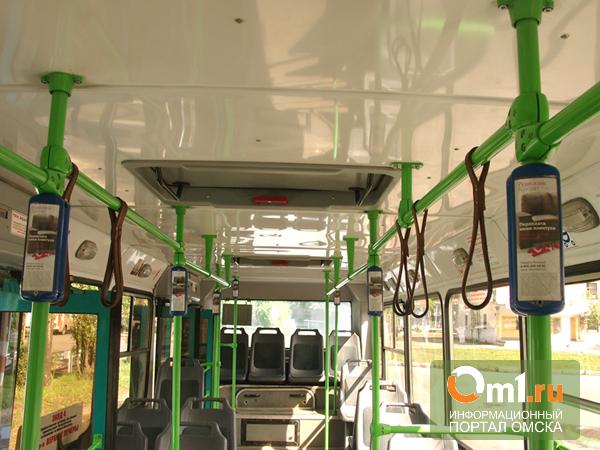 Омские автобусы остались без пассажиров