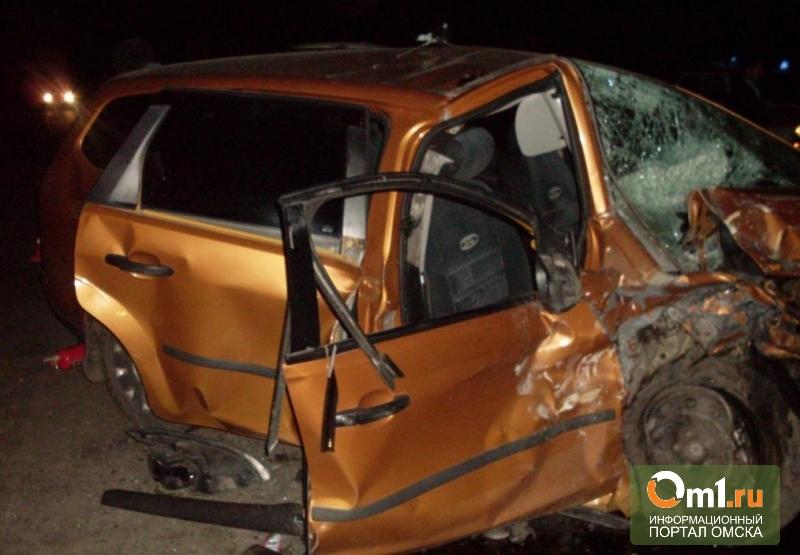 В аварии на трассе «Челябинск-Новосибирск» погибли трое омских полицейских