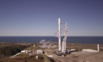 Космическая компания SpaceX впервые после аварии успешно запустила и посадила ракету Falcon 9