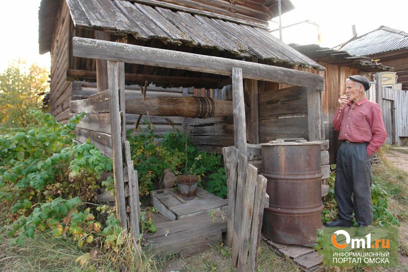В Омской области без воды оставили 280 жителей села деревни Комсомол