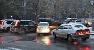 Пробки в Омске: затор на Красном Пути и ДТП на Дианова