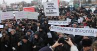 В Омске осквернили офис «Платона»
