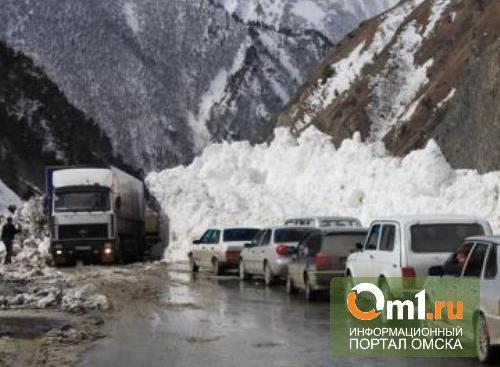 Погода угрожает передвижению по трассе Омск-Казахстан