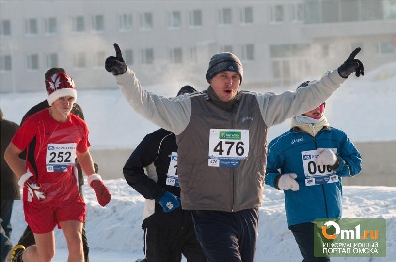 В Омском полумарафоне победили Василий Минаев и Нина Поднебеснова