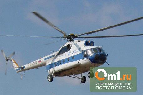 В Томской области при аварийной посадке опрокинулся вертолет МИ-8