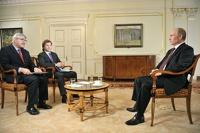 Путин в интервью AssociatedPress разрекламировал блесну, на которую поймал щуку