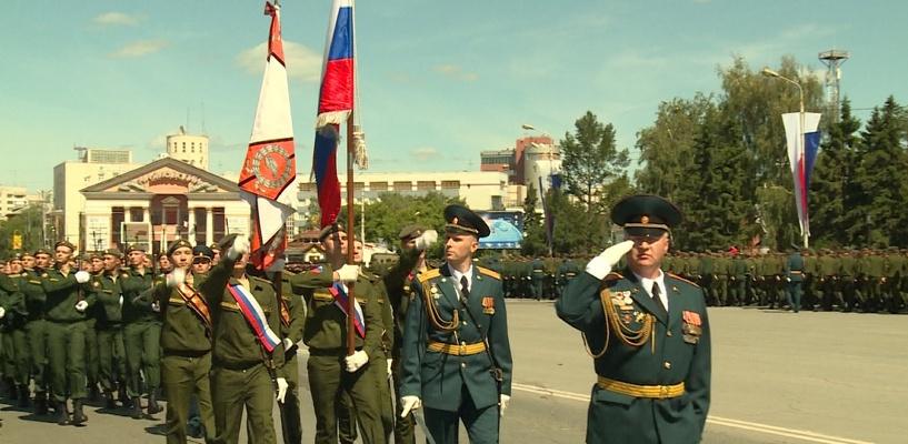 Из-за танкистов в центре Омска будет перекрыто движение