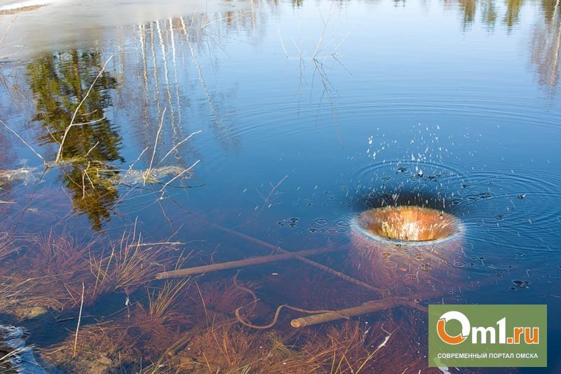 В Омской области Элиту чуть не затопило канализационными стоками