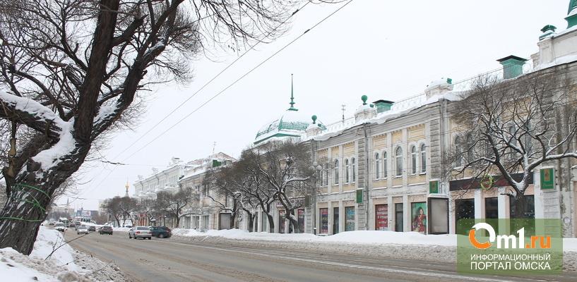 В честь Омска названо 13 улиц в городах-миллионниках России