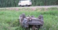 Ночью на трассе «Тара – Омск» перевернулась «Тойота», водитель погиб