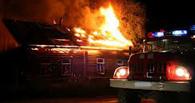 В Омской области при пожаре были спасены пожилые супруги
