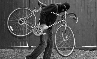 Омич на украденном велосипеде пытался сбежать от полиции
