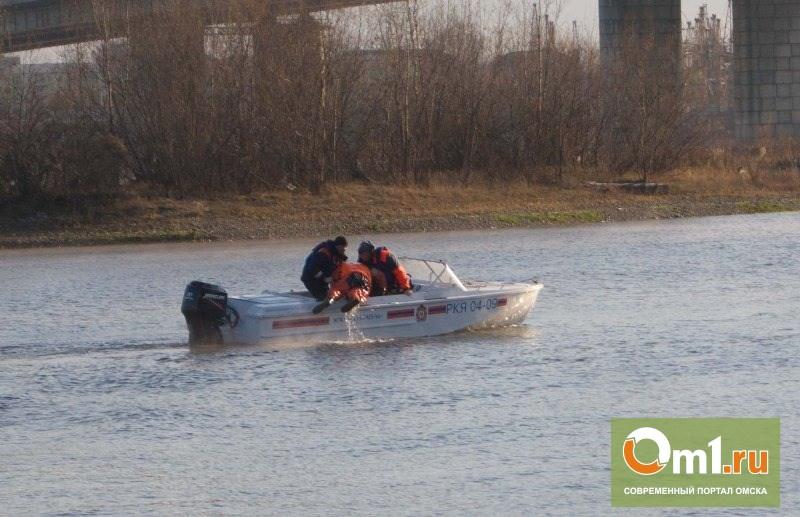 Спасатели выловили из Иртыша тонущего омича