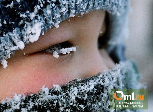 В Омске трехлетнего малыша бросили замерзать в поле