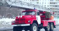 В Омске при попытке угона сожгли пассажирскую «Газель»