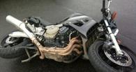 В Омске 15-летний подросток опрокинулся на мотоцикле