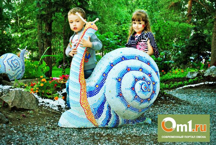 C выставки «Флора» в Омске украли декоративных улиток