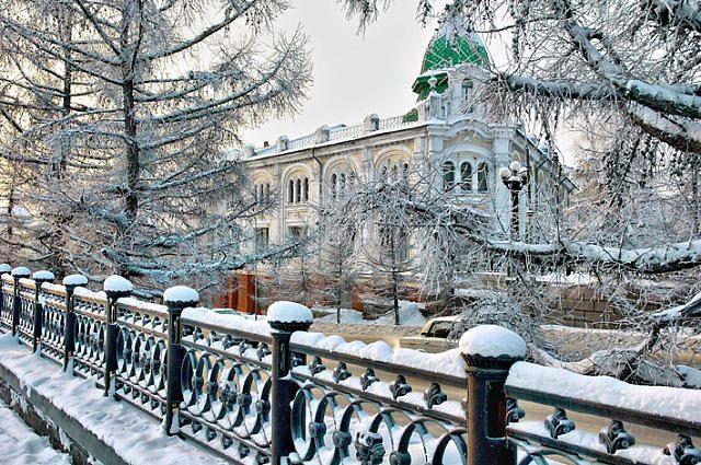 Морозы отступают: на выходных в Омске потеплеет