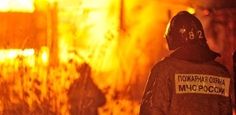 В трех округах Омска снизилось количество пожаров