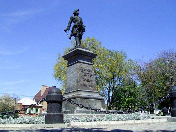Омские краеведы хотят установить памятник Петру Первому