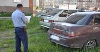 За парковку на газонах и детских площадках омичам грозят штрафы