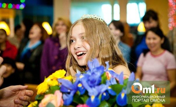 «Маленькой мисс Омска -2013» стала 11-летняя Настя Ситина