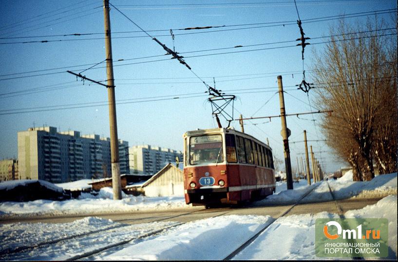 Из-за кронирования деревья в Омске укоротили маршрут трамвая №9
