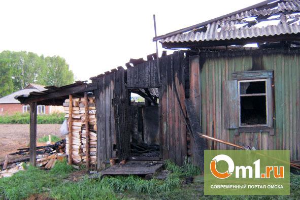В Омской области после пожара в частном доме погибла 5-летняя девочка