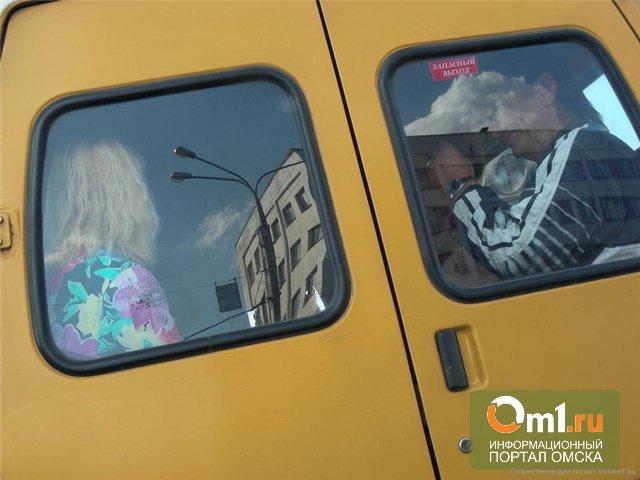 В Омске ГИБДД остановила 15 неисправных маршруток
