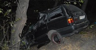 В Омской области 19-летний водитель опрокинул в кювет иномарку с двумя 15-летними школьницами