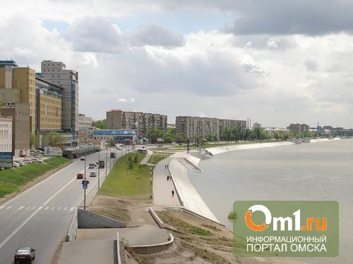 В Омске на День физкультурника перекроют Иртышскую набережную