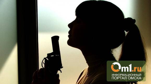 В Омске девушка-подросток всадила в себя пулю