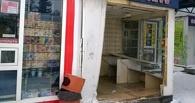 В Омске неизвестный протаранил остановку на «Главпочтамте» и скрылся с места ДТП