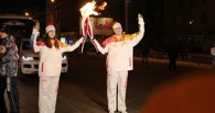 Омск встретил Олимпийский огонь