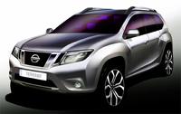 Nissan показал еще кусочек внедорожника на базе Renault Duster