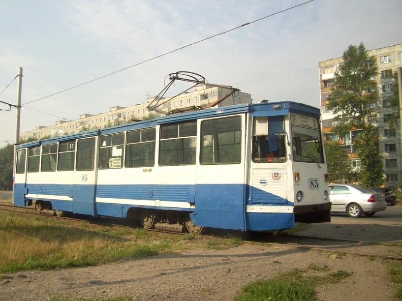 В Омске трамвай №7 возобновит работу по прежнему маршруту