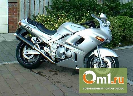 Омич получил ожоги, когда тушил свой мотоцикл
