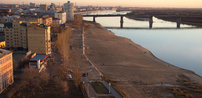 В Омске планируют улучшить экологическое состояние Иртыша